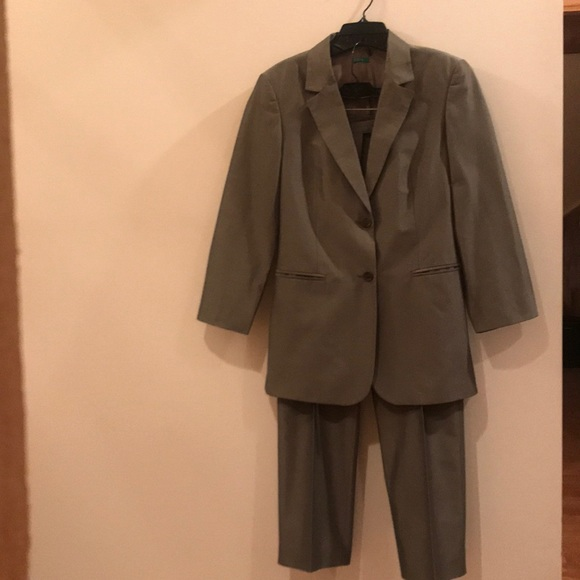 United Colors Of Benetton Other - United Colors Of Benetton Gunmetal Pants Suit